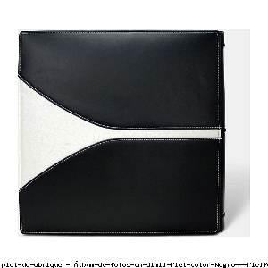 Álbum de fotos en Simil Piel color Negro - Pielfort