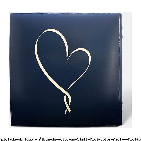 Álbum de fotos en Simil Piel color Azul - Pielfort