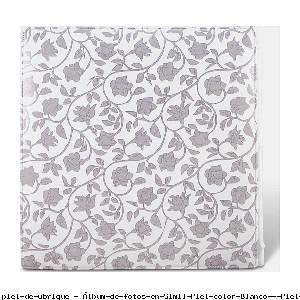 Álbum de fotos en Simil Piel color Blanco - Pielfort