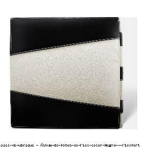 Álbum de fotos en Piel color Negro - Pielfort