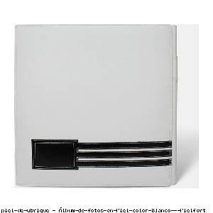 Álbum de fotos en Piel color Blanco - Pielfort