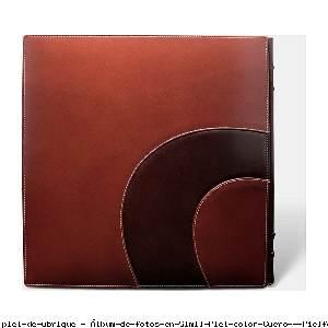 Álbum de fotos en Simil Piel color Cuero - Pielfort