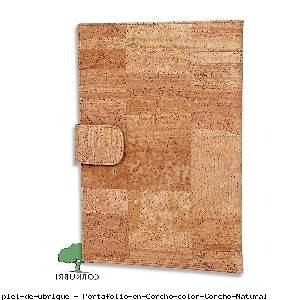 Portafolio en Corcho color Corcho Natural