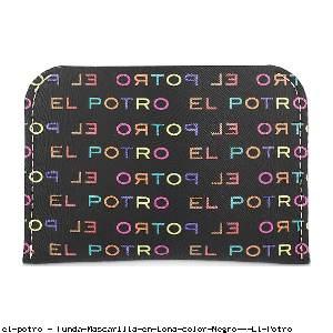 Funda Mascarilla en Lona color Negro - El Potro