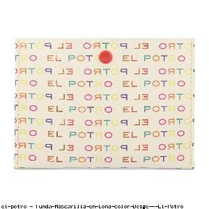 Funda Mascarilla en Lona color Beige - El Potro