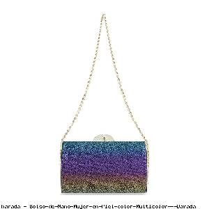 Bolso de Mano Mujer en Piel color Multicolor - Barada